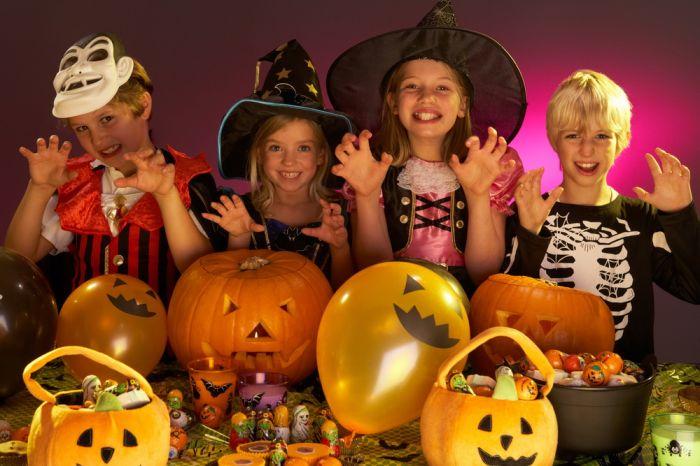Детские конкурсы к хэллоуину
